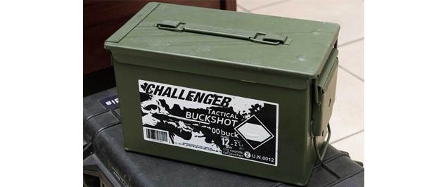 Challenger Tactical Buckshot, 12ga 2 3/4″ #00 Buckshot 9Pellets 1350FPS – 175Rds