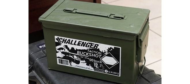 "Challenger Tactical Slug Magnum Buck 12GA 2-3/4"" 175rds"