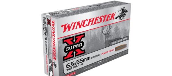 Winchester Super-X, 6.5x55mm Swedish, 140gr