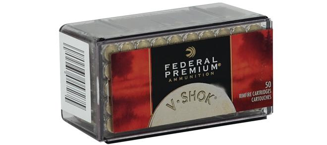 Federal Premium, V-Shok, 22 WMR, 30gr Speer TNT, 50 rds