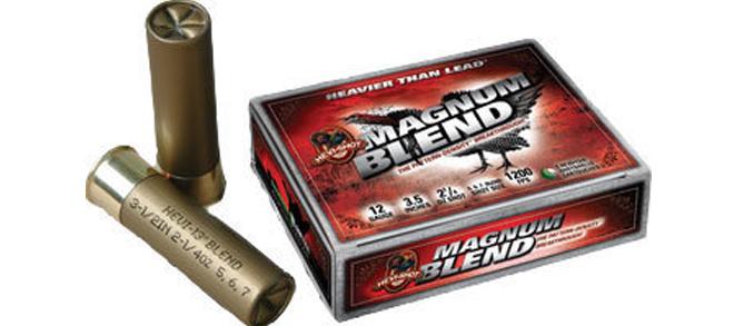 """Hevi-Shot Magnum Blend, 12ga, 3 1/2"""", 1200fps, #5+6+7 Blend"""