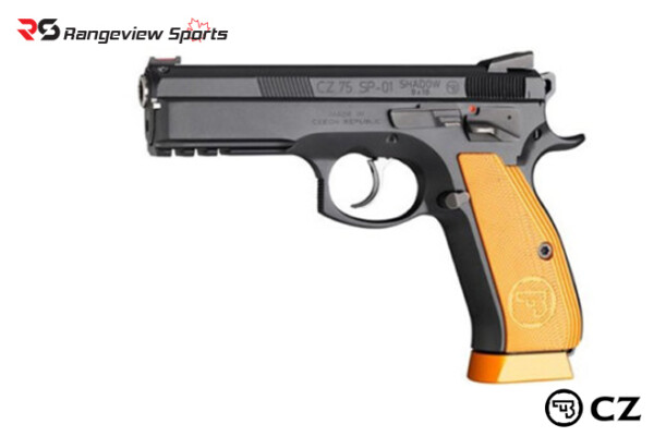 CZ 75 SP-01 Shadow Orange, Cal. 9x19mm Luger Rangeviewsports Canada