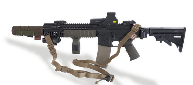 TAB Gear Carbine Sling - No Attachments, Black
