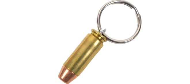 40 S&W Round Key Chain