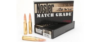 Nosler Match Grade 308 Win. 168 Gr 20 Rds