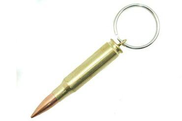 308 Round Key Chain