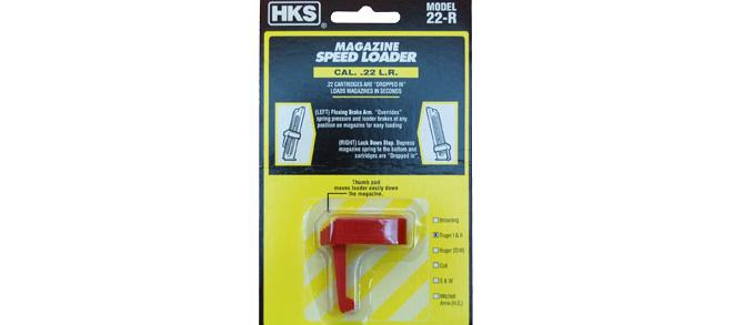 HKS Magazine Speed Loader, Model 22-R, for Ruger I & II