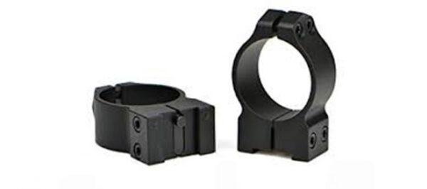 Warne Maxima 30mm Medium Matte Scope Rings 14TM – Fits Tikka