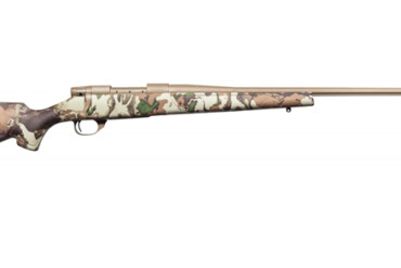 Weatherby Vanguard First 6.5 Creedmoor - Camo Stock, FDE Cerakoted