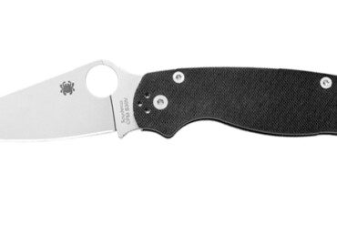 Spyderco Para Military Model Ambidextrous Handle Folding Knife