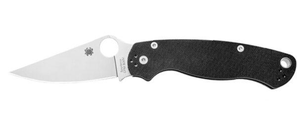 Spyderco Para Military Model Ambidextrous Handle Folding Knife