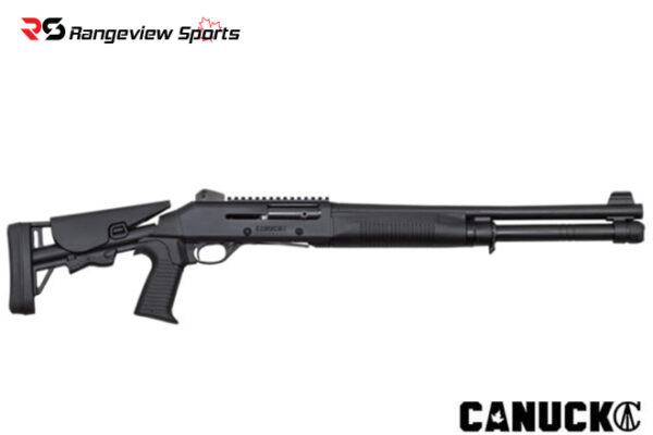 Canuck Shotgun Semi Auto Model Operator Black – Combo Rangeviewsports Canada