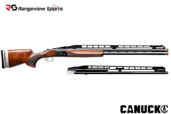 Canuck Trap Combo 12 Ga 2.75″, 32″ Double + single Barrel Shotgun Rangeviewsports Canada