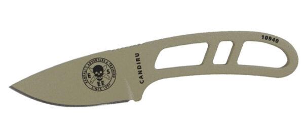 ESEE Candiru Kit Fixed Blade Knife - Desert Tan