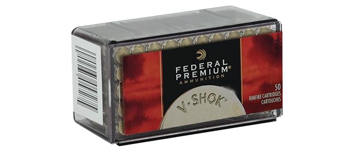 Federal Premium, V-Shok, .17HMR, 17gr TNT HP