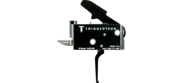 TriggerTech Adaptable AR Primary Trigger - PVD Black Flat