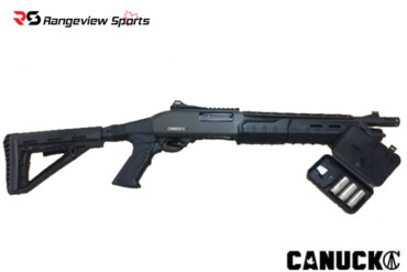 Canuck Commander, 12ga Pump Shotgun – Black Rangeviewsports Canada