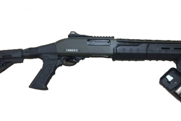 Canuck Commander, 12ga Pump Shotgun, Black