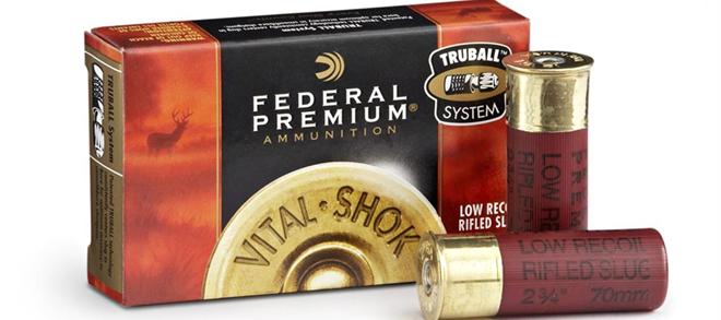 Federal Premium Vital - Shok 12 Ga Rifled Slug - 5 Shotshells