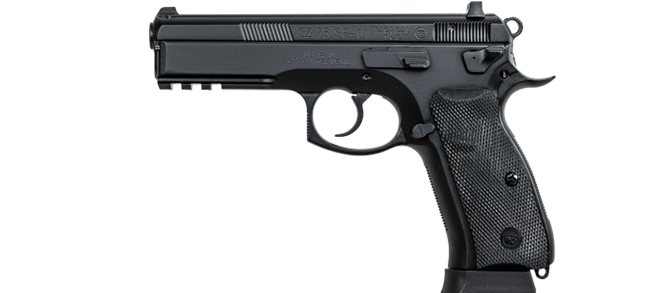 CZ 75 SP-01 Tactical, 9mm