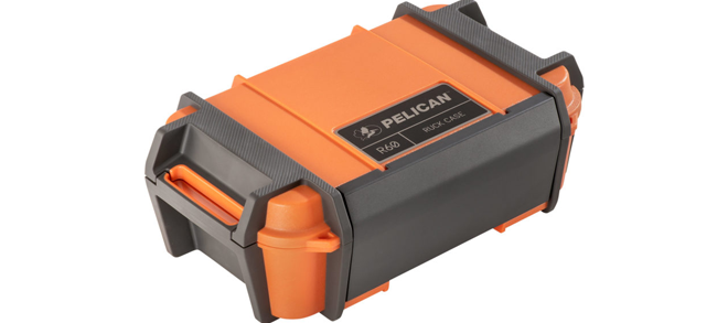 Pelican Ruck Case, R60, Orange