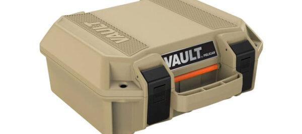 Pelican Vault V100 Small Case, Tan