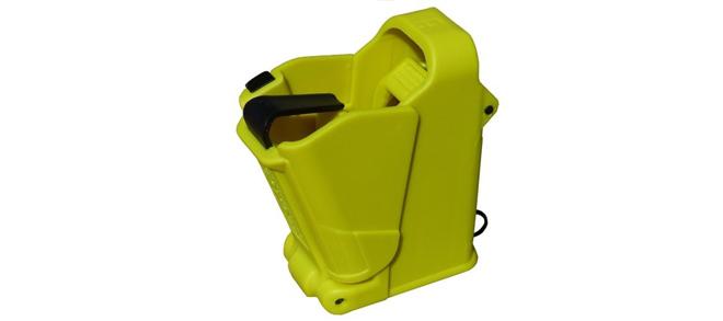 UpLula Universal Pistol Magazine Loader - 9mm to .45ACP, Lemon