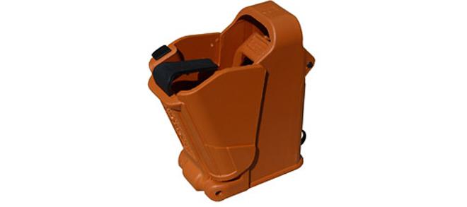 UpLula Universal Pistol Magazine Loader - 9mm to .45ACP, Orange