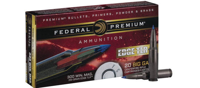 Federal Premium, 300 WSM 200gr, Edge TLR