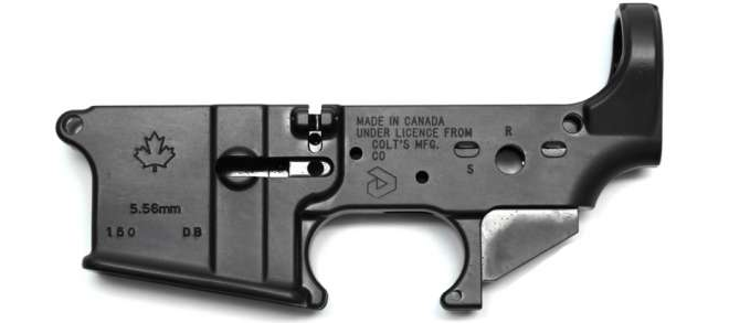 Colt Canada AR-15 Stripped Lower Receiver