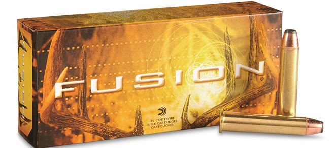 Federal Fusion, 45-70 Govt, 300gr Bonded SP, Ammunition
