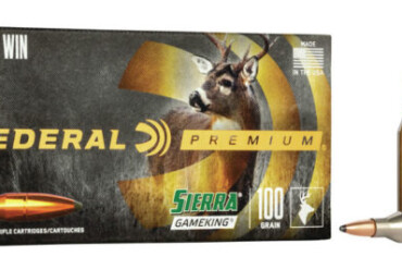 Federal Premium 243 Win Rifle Ammo, 100Gr Sierra GameKing SPBT 2960FPS – 20Rds