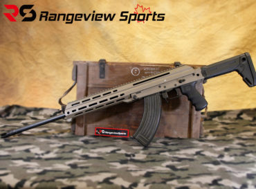 M + M Industries M10x DMR 18.6″ 7.62×39 Rifle Non-Restricted In FDE