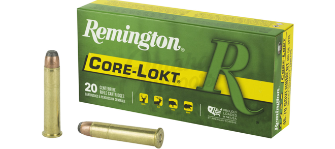 Remington Core-Lokt, 45-70 Govt, 405gr SPCL, Ammuntion