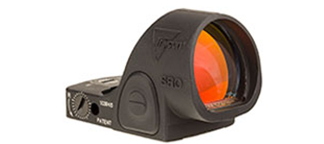 Trijicon Adjustable LED Reflex Sight, SRO Red Dot, 2.5 MOA