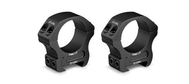 Vortex Pro Series Riflescope Rings, 30mm, Low