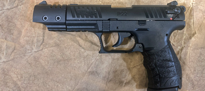 walther p22 left Rangeview Sports Canada