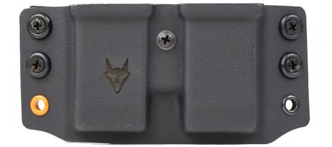 Gray Fox Strategic Wyvern Glock 9/40 Double Mag Carrier- Black