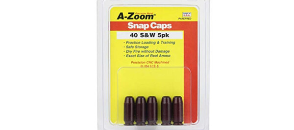 A-Zoom .40 S&W Snap Caps 5PK