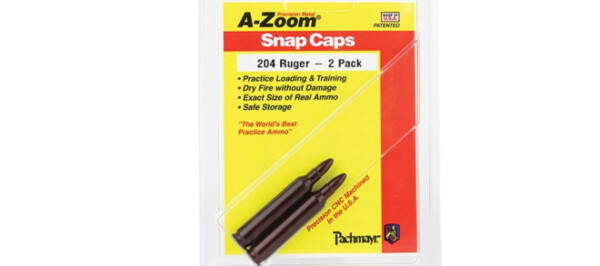 A-Zoom 204 Ruger Snap Caps 2PK
