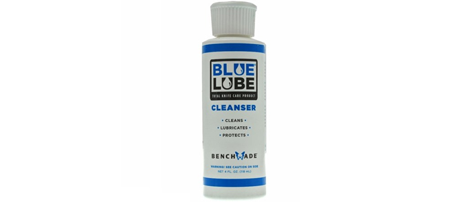 Benchmade Blue Lube Knife Care Cleanser- 4oz
