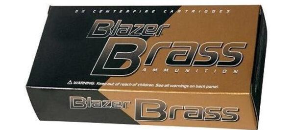 Blazer Brass 38 Special, 125gr, FMJ, 1000rds