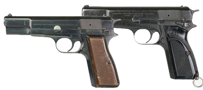 Browning High Power 9mm Surplus Handgun