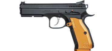 "CZ Shadow 2 Orange Pistol 9mm (9x19 Luger), 5"" Stainless Barrel"