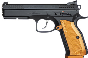 "CZ Shadow 2 Orange Pistol 9mm (9x19 Luger), 5"" Stainless Barrel"