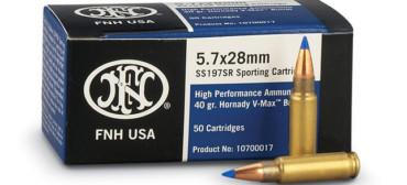 FNH 5.7x28mm 40gr Hornady V-Max - 50rds
