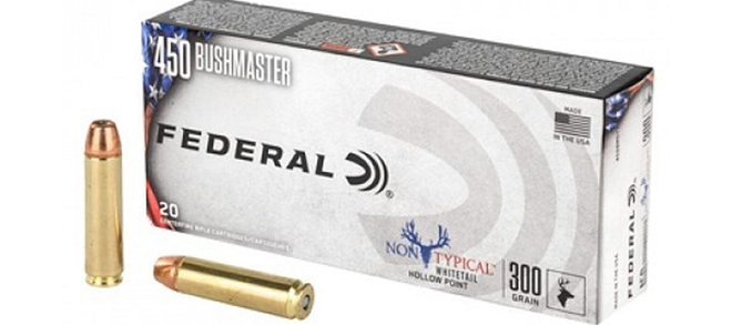 Federal 450 Bushmaster Non-Typical HP 300gr - 20rds