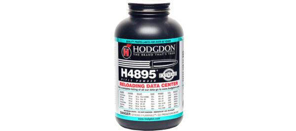 Hodgdon Powder H4895 Smokeless Powder - 1 lb