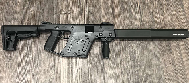 "Kriss Vector Gen II - .45 ACP 18.6"" BLK - Used - Very Good Condition"