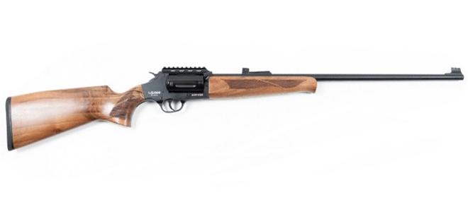 Lazer Arms XR410 410Ga Revolver Action Shotgun, 3″, Walnut Stock